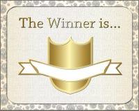 Winner belt icon Royalty Free Stock Photos