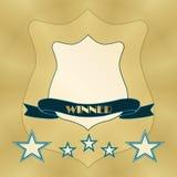 Winner belt icon Stock Photos