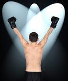 Winner boxer Stock Photos