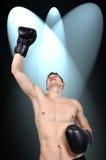 Winner boxer Stock Photo