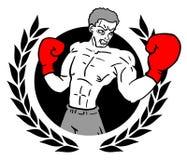 Winner boxing Royalty Free Stock Image