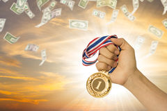 Winner business. Royalty Free Stock Images