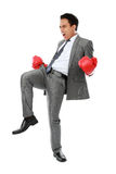 The winner of business competition Stock Image