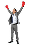 The winner of business competition Royalty Free Stock Image