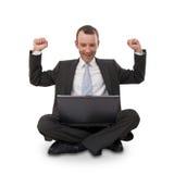Winner businessman Royalty Free Stock Images