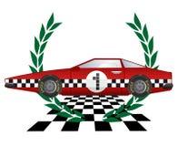 Winner car Stock Image