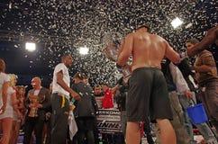 Winner celebration Stock Images