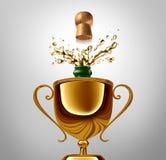Winner Celebration Stock Photo