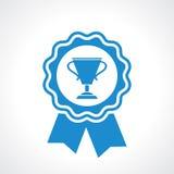 Winner certificate seal Stock Images