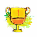 Winner Cup for Sports concept. Stock Photo