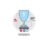 Winner Cup Top Award Success Business Icon Stock Photo