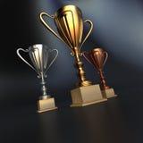 Winner cups Stock Image