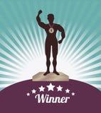 Winner design Royalty Free Stock Image