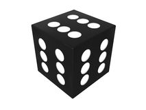 Winner dice Royalty Free Stock Image