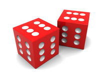 Winner dices Royalty Free Stock Photos