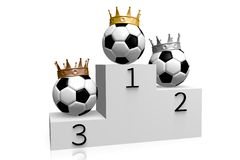Winner, fifa, soccer, trophy, crown, soccer, ball, sport, 3D, championship... Stock Images