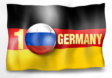 Winner Germany Flag Ball Stock Photography