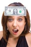 Winner girl Royalty Free Stock Images