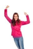 Winner girl Stock Photos
