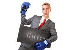 The winner. Stock Image