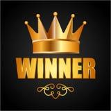 Winner icon Stock Photography
