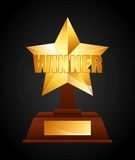 Winner icon Royalty Free Stock Photography