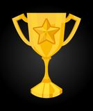 Winner icon Royalty Free Stock Images