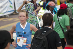 Winner of KL Marathon Royalty Free Stock Image