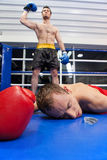 Winner and loser. Royalty Free Stock Photography