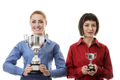 Winner and losers Royalty Free Stock Image