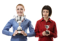 Winner and losers Stock Photography