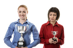Winner and losers Royalty Free Stock Photo