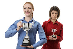 Winner and losers Royalty Free Stock Images
