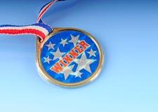 Winner medal Royalty Free Stock Image