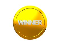 Winner medal Royalty Free Stock Photo