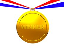 Winner medal stock photography