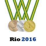 Winner medals Stock Images