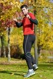 Winner runner Stock Photo