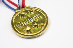 Winner's medal Royalty Free Stock Images