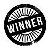 Winner stamp rubber grunge Royalty Free Stock Image