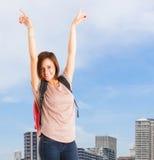 Winner student Stock Photo