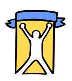 Winner symbol. Creative design of winner symbol Royalty Free Stock Images