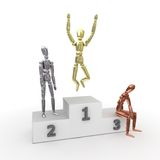 The Winner Takes It All - Metal stock photos