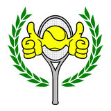 Winner tennis Royalty Free Stock Photo