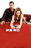 Winner Texas Hold Um Stock Image