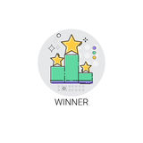 Winner Top Award Success Business Icon Royalty Free Stock Photography