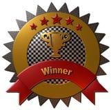 Winner Trophy Seal Stock Photo