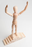 Winner (Winning gesture) Stock Image