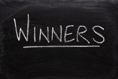 Winners Royalty Free Stock Images