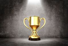 Winners cup 3d Stock Images